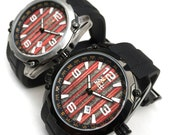 Mens Watch - Recycled Skateboards Dial
