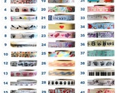Washi Tape - NOVELTY Collection