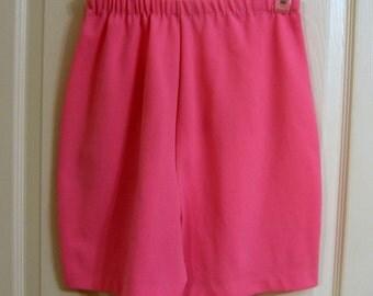 Pretty pink shorts.