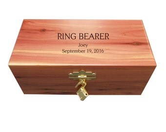 Personalized Ring Bearer Keepsake Box: Personalized Ring Bearer Gift, Ring Bearer Keepsake Box, Custom Ring Bearer Gift, Ring Bearer Present