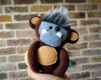 Mini MonkeysquatchPlush