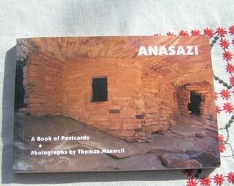ANASZI Oversize Postcard BOOK American Southwest RUINS 1500BC