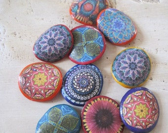 Hippie brooches