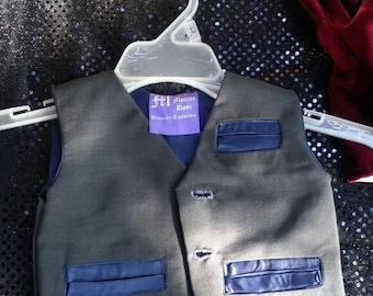 TMD original. Finished product child bespoke tailored vest