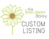 Custom Listing for Lindsey