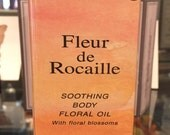 Fleur de Rocaille by Caron 4.2 oz  Body Floral Perfume Oil • New/ Rare/ Sealed in Cellophane