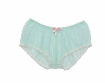 Peppermint perfection  sheer bloomers