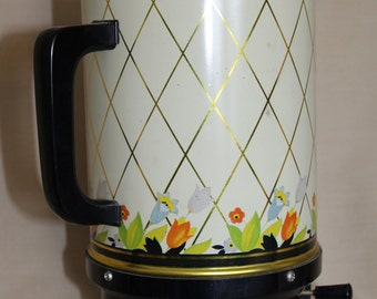 1950's Hall Crocus Pattern Coffee Dispenser w/Orignal Instructions