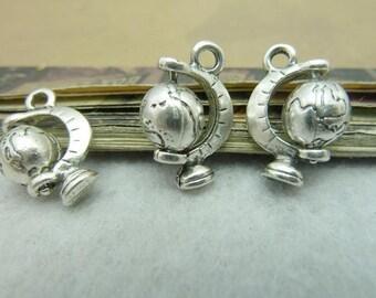 10pcs 13*19mm antique silver  tellurion charms pendant C6399