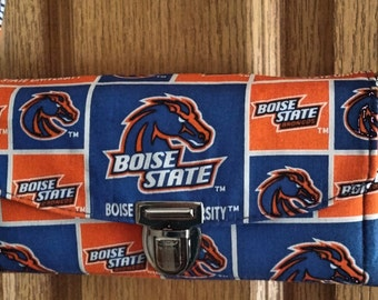 Boise State Wallet, Clutch, Purse, Adjustable Strap