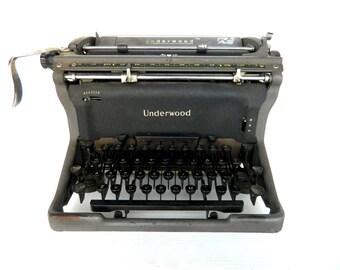 Vintage Typewriter Underwood