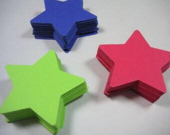 Star die cuts, confetti,  Scrapbook Embellishments, Patriotic, Military, Cards, Verterans Day