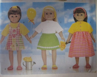 Butterick 5452 -Sewing Pattern to make 18 Inch Doll Clothes