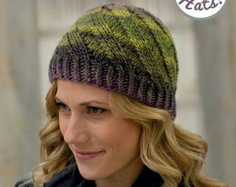 Ready to Ship - Knit Beanies Book - 20 Hat Knitting Patterns for Beginners, Novices, and Advanced Knitters - Hats for Men Women and Children