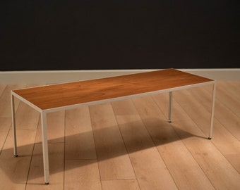 Mid Century George Nelson Teak Coffee Table