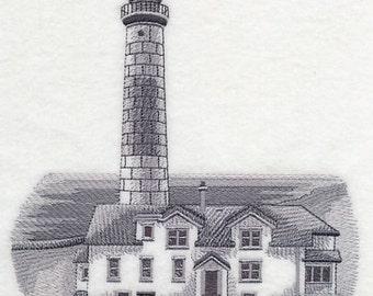 Custom Embroidered Big Sable Point Lighthouse, Michigan Sweatshirt S-3XL