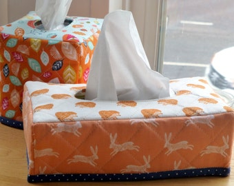 PDF Pattern Tissue Box Cover (2 styles): Level - Beginner