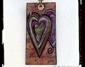 Re-Carded Copper Heart Necklace
