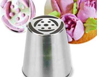 Russian Pastry Tip ~ Flower Tip ~ Decorating Tube ~ 244