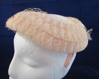 Ladies' Pink Vintage Hat