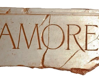Amore Love Plaque