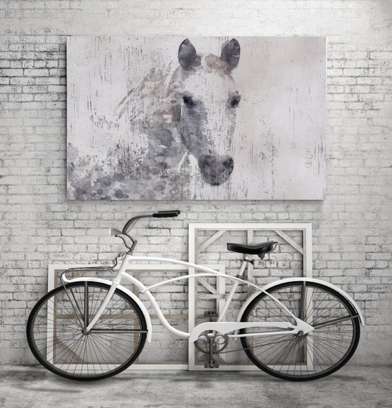 Gorgeous dapple horse extra large horse horse wall decor for Decor mural xxl cheval