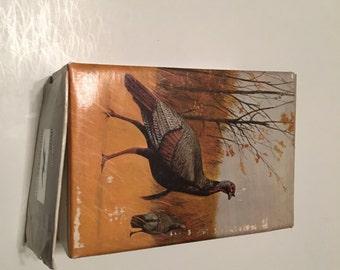 avon wild turkey decanter in original box wild country after shave