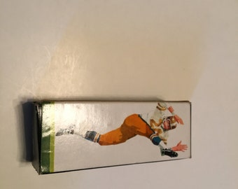 avon just for kicks football player decanter