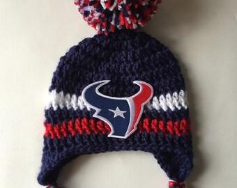 Houston texans infant hat baby texan cap Football hat