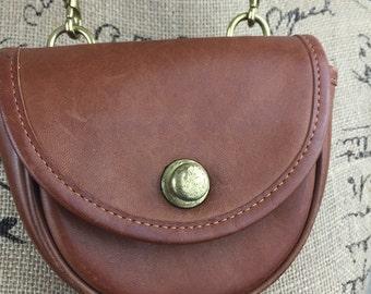 Vintage Mini Coach Purse Coin Purse Crossbody Belt Purse Fanny pack