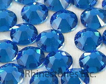 Capri Blue 30ss Swarovski Elements Rhinestone 2058 Flat back 10 pieces