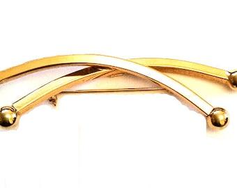Modernist Brooch, Designer Kramer of New York, Vintage Jewelry, Gift for Her SPRING SALE