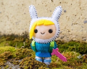 Felt Fionna The Human - Pocket Plush toy