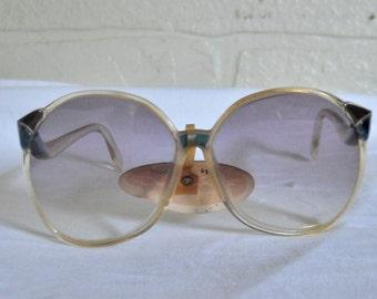 Vintage Oscar de la Renta Oversize Sunglasses Designer Sunglasses Big Sunglasses Large Sunglasses Women Sunglasses 80s Sunglasses Hipster
