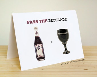 Pass the Seder-ade - Funny, Cute Jewish Holidays / Passover
