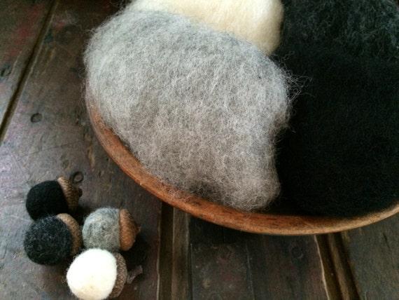 Needle Felting Wool - Chimney Sweep Wool Sampler-Wet Felting Wool