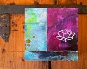 Lotus // lotus flower// original painting
