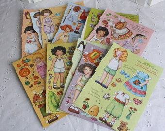 Mary Engelbreit paper dolls- Free Shipping