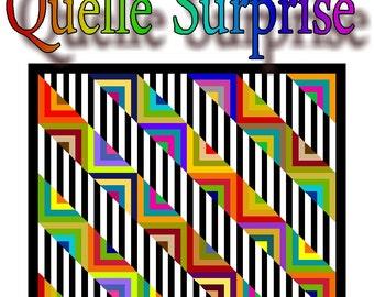 NEW - QUELLE SURPRISE -  Quilt-Addicts Patchwork Quilt Pattern