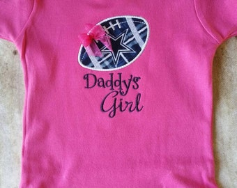 Dallas Cowboys Daddy's Girl Shirt or bodysuit