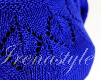Blouse knitting ,custom made, hand made,  100% cotton