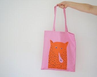 Hi Cat Man  - Tote Bag