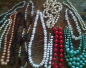 Destash of Costume Necklaces