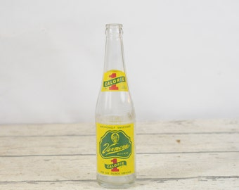 Vintage Vernors Soda Bottle 1 Calorie Pop bottle