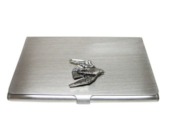 Falcon Bird Business Card Holder