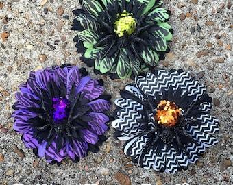 Spider Hair Flower/Clip or Headband