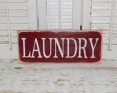 Laundry Sign Wall Decor Country Home Decor Signs Mother's Day Gift Ready To Ship
