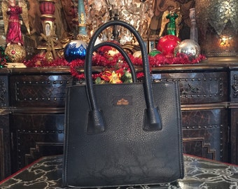 Everyday black tote bag