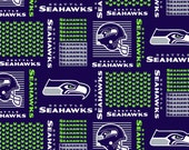 Seattle Seahawks Patch NFL Cornhole Bean Bags (Qty 4) AcA Regulation Corn Hole Bags NCAA, MLB Fans Great Gift Idea