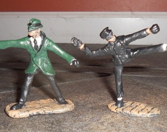 Green Hornet and Kato toy soldiers 54mm pewter